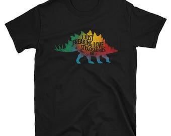 Short-Sleeve Unisex T-Shirt Stegosaurus