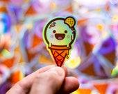 Ice Cream Sticker, Laptop Stickers, Cool Sticker, Cool Laptop stickers, Small Laptop Stickers, iPhone stickers, cool stickers skateboard