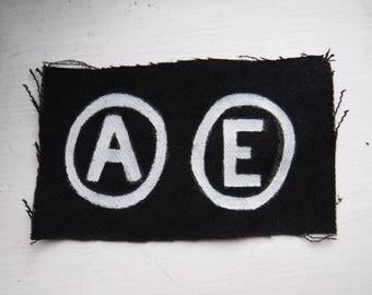 Anarchy / Equality DIY Punk Patch