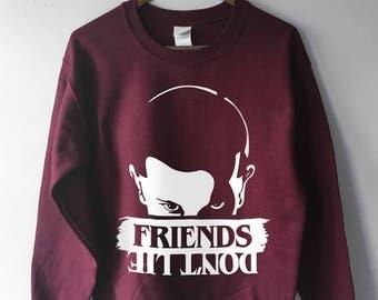 Stranger Things 2 Friends Dont Lie, Friends Don't Lie Sweatshirt, Stranger Things Sweatshirt, Eleven Shirt, Eleven Sweatshirt, 11, Hawkins