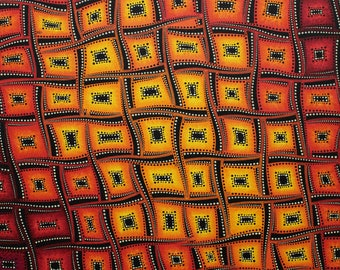 Painting: flamboyant colors movements.