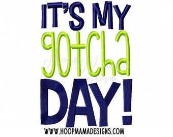 It's My Gotcha Day Shirt, Adoption Shirt, Gotcha Day Shirt