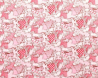 Cat Puzzle | Pillow | Imported | Japanese Fabric | Throw Pillow
