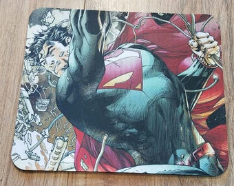 Superman Non-Slip Mouse Pad