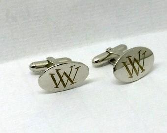 BAB sterling silver  cufflinks #158