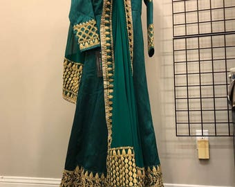 Wedding/party wear gown indian/pakistani