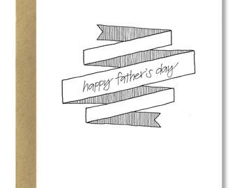 Father's Day Banner - A2 Card (Single or Set of 5)