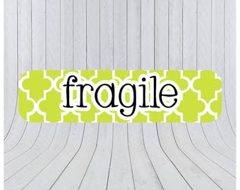 Fragile stickers, packaging labels, fragile labels, shipping labels, mail stickers, packaging stickers, handle with care 118