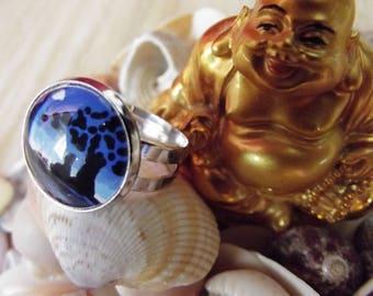 Asian meditation ring