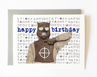 zodiac birthday card