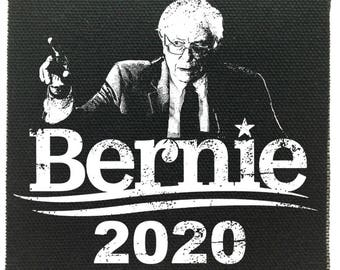 Bernie 2020 Cloth Patch, Feel The Burn Patch, President Bernie Sanders Patch, Political Patches, Protest Patches, Being Liberal Patch