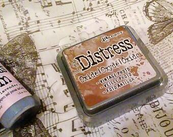 Tim Holtz Distress OXIDE INK by Ranger : Vintage Photo