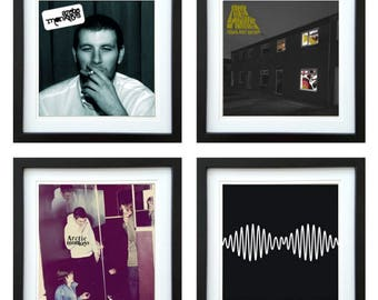 Arctic Monkeys - Framed Album Art - Set of 4 Images
