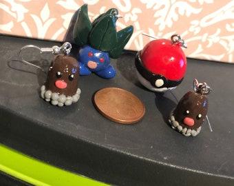 Pokemon Inspired Earrings