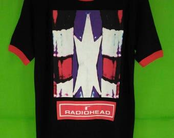 Vintage 90s Radiohead Tour Tshirt Rare