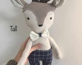 Doll bambi deer stuffed animal toy baby and child
