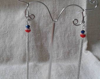 chains and beads earrings
