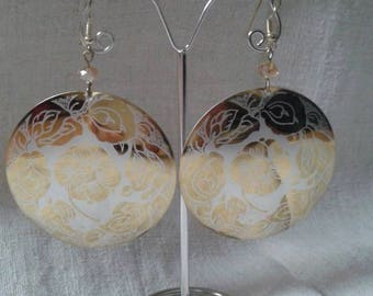"Earrings ""bouquet of roses"""