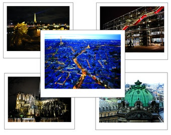 Paris 5 Pack Signed and Numbered Print Edition