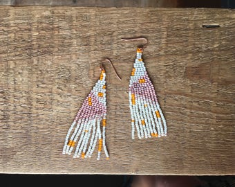 SOLD • White Sands Danglers • SOLD •