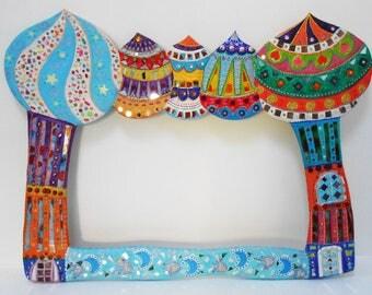 "Large mirror ""Arabian Nights"" 119 cm X 90 cm"