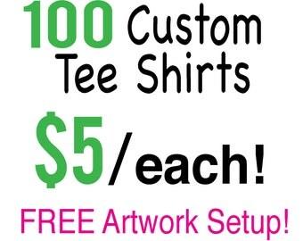 Custom Printed Tshirs. Custom Print. Screenprint. Screenprinting. Screen print tee. Screen print tshirt. Bulk Shirts. Tees. Team Shirts.