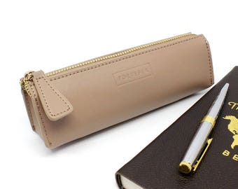 Leather Pencil Case by Fortessa