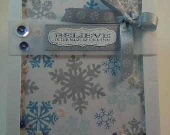 Christmas Card, Handmade Christmas Card, Handmade Card