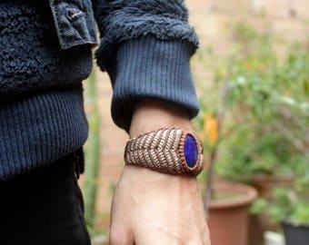 Lapislazuli Wristband