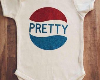 Pretty Label Kids Onesie