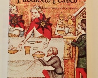 Fabulous Feasts - Medieval Cookery and Ceremony by Madeleine Pelner Cosman Paperback History 1970s