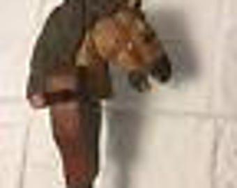 Vintage stick horse