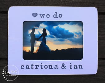 Wedding Picture Frame Wedding Gift for Couple Personalized Picture Frame Wedding Gift Personalized Marriage Gift for Couple Gift for Bride