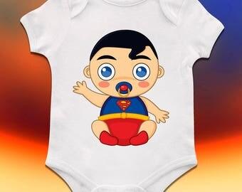 Superman Baby Onesie, Superman Baby Shower, Superman First Birthday,  Superman 1st Birthday,