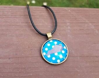 UK inspired necklace; UK Jewelry; University of Kentucy necklace; Kentucky jewelry; Kentucky Necklace; University of Kentucy