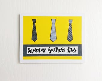 Happy Father's Day Card: ties