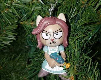 Rick and Morty Christmas Ornament Arthricia