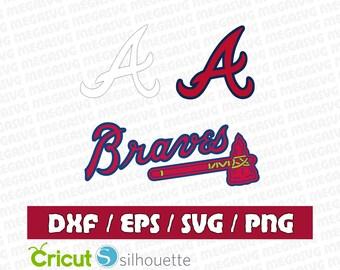 Atlanta Braves Svg Dxf Eps Png Cut File Pack