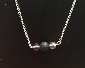 Silver Chain Oil Diffuser Necklace