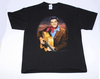 Vintage Elvis Presley Mens Large T shirt