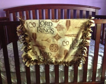 Lord of the Rings Blanket