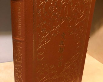 Easton Press Analects of Confucius 100 Greatest Series