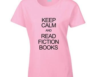 Read Fiction Books T Shirt
