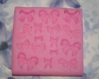 silicone mold for making beautiful bows
