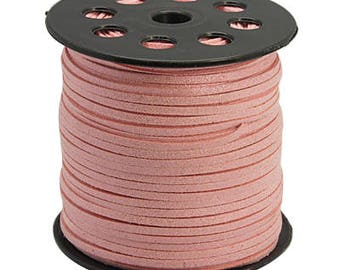 Pink cord 3 mm the meter