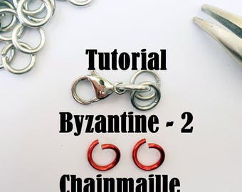 Chainmaille tutorial, chainmaille project, byzantine bracelet, DIY chainnmaille, chainmaille bracelet intructions, Tessa's chainmail