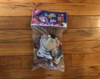 Vintage 90's Space Jam Michael Jordan Taz Looney Tunes Taz Toy