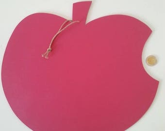 Notes of Apple wall hanging table