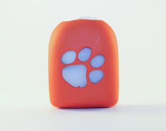 Clip-On Omnipod Pod Cover - Paw