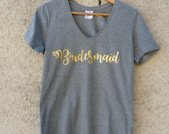 Bridesmaid shirt - bridesmaid - witness t-shirt - gift - bridesmaid gift - bachelorette party witness witness-